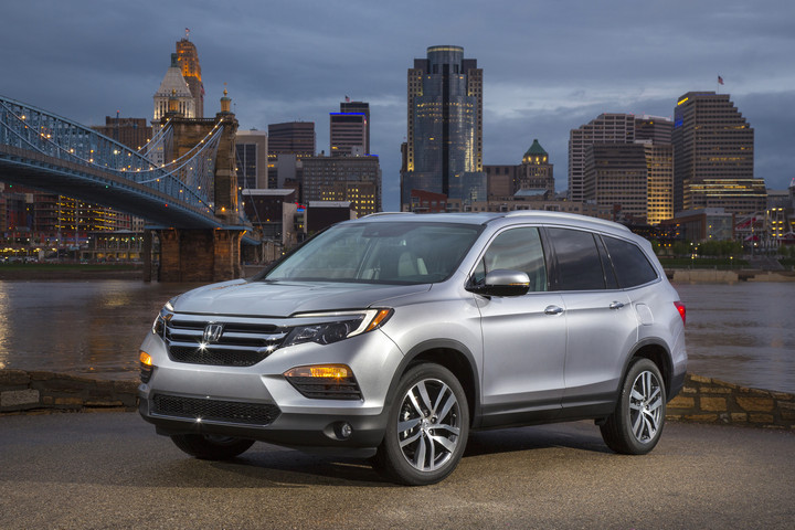 All-New 2016 Honda Pilot