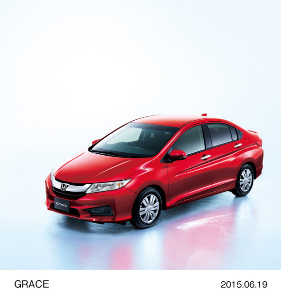 "Honda Begins Sales of Gasoline-powered ""Grace LX"" Compact Sedan"