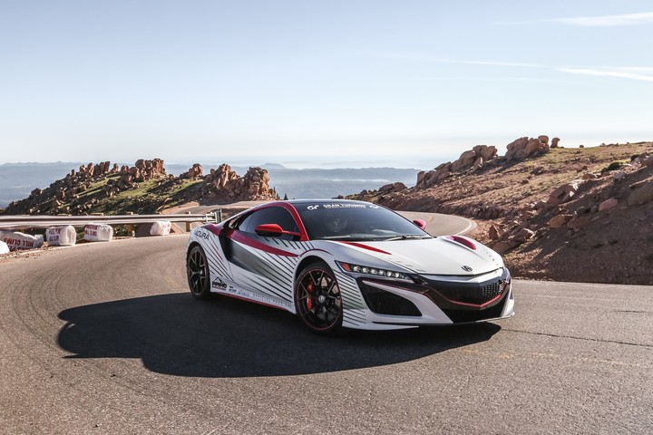 Next-Generation Acura NSX to Serve as Official Pace Car for the 93rd Pikes Peak International Hill Climb