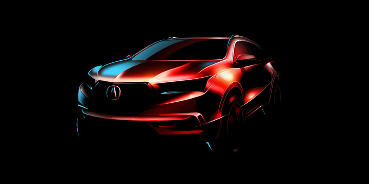 Redesigned and Reengineered 2017 Acura MDX to Debut at 2016 New York International Auto Show