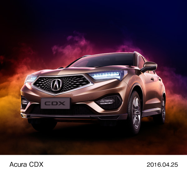 Acura Exhibits World Premiere of All-New Acura CDX Compact SUV at the 14th Beijing International Automotive Exhibition (Auto China 2016)