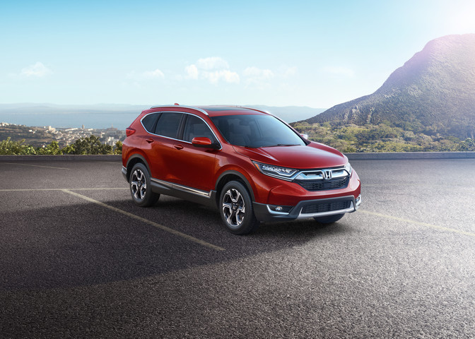 Bold and Sophisticated Styling and Turbo Engine Power Restate the All-New 2017 Honda CR-V as the Outright Benchmark Compact SUV