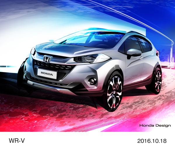 Honda to Exhibit World Premiere of Planned Production Model of All-new WR-V Compact SUV at Sao Paulo International Motor Show 2016