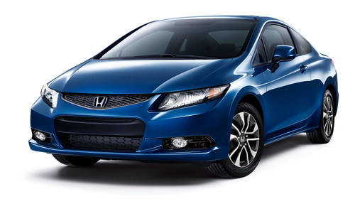 2013 Honda Civic Sedan And Coupe First Small Cars To Achieve TOP SAFETY PICK