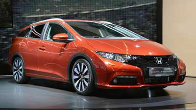 Honda 'Inner Beauty' New Civic Tourer