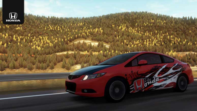 Honda to Turn Virtual Forza Motorsport Civic Si Into a Real Car at Chicago Auto Show