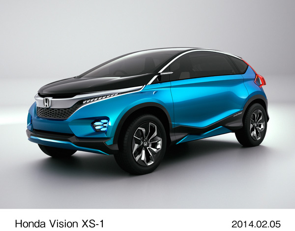 Honda Exhibits World Premiere of Creative Study Model
