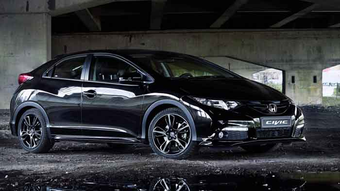 2014 Geneva Auto Show : Honda Displays New Civic Black Edition in Geneva, Goes on Sale in May