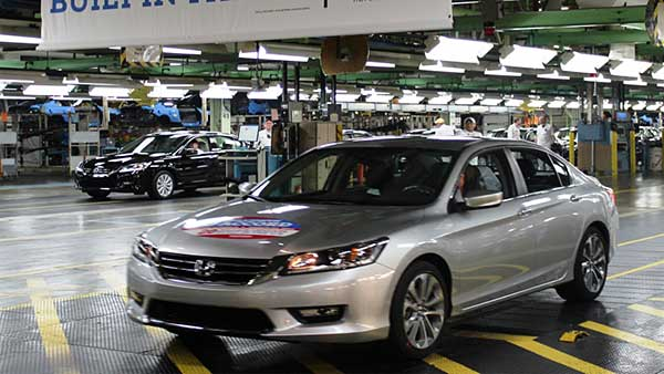 IKM Group - News : Honda Celebrates 20 Millionth US-Built Car