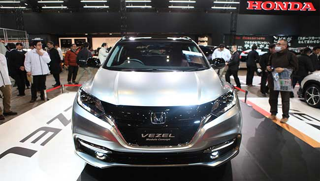 2014 New York Auto Show Preview : Honda JDM Vezel Details