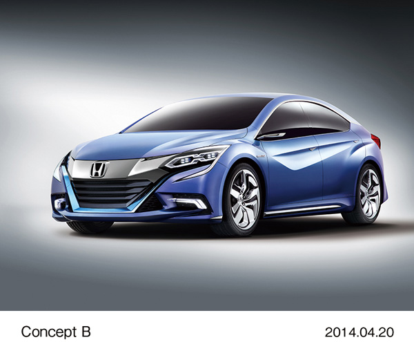 Honda Exhibits World Premiere of Concept B