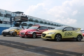 Honda CR-Z Tampil Sebagai Official Car Indospeed Race Series (ISR) 2014 di Sirkuit Internasional Sentul