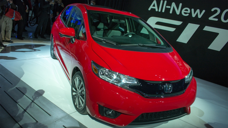 2015 Honda Fit Earns 5-Star Safety Rating