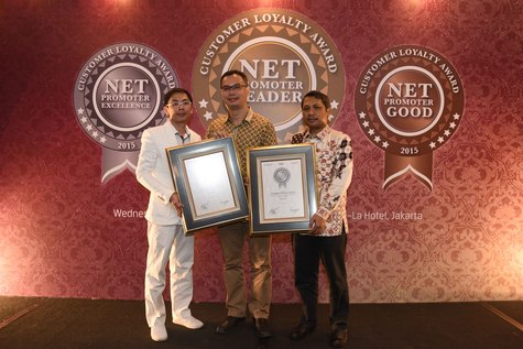Honda Raih Penghargaan di Net Promoter Customer Loyalty Award 2015