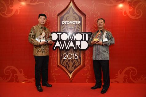 Honda HR-V Raih Gelar Car of The Year 2015 di Ajang OTOMOTIF Award