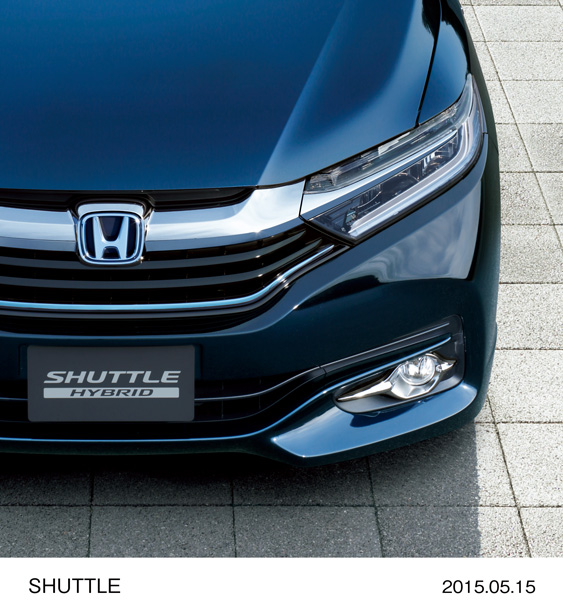 Honda Begins Sales of All-New Honda SHUTTLE Compact Station Wagon