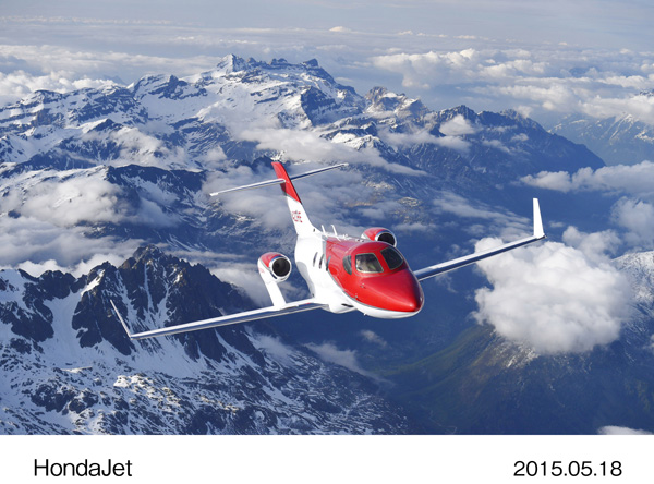 HondaJet Program Update Shared at EBACE 2015